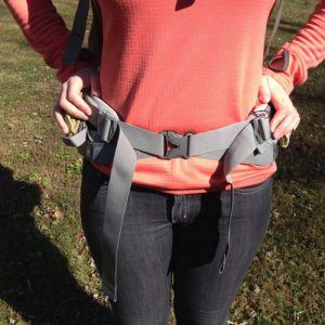 A properly fitting hipbelt